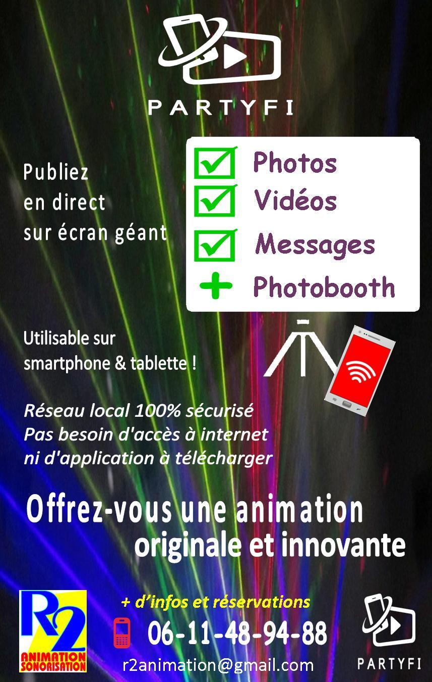 PartyFi location photobooth Lorraine